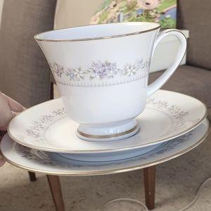 Vintage Noritake Lilac Floral Tea Set